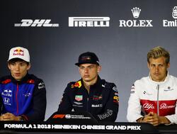 Max Verstappen vandaag in persconferentie FIA