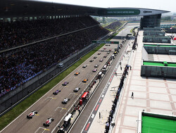 Starting grid for the 2019 Chinese Grand Prix