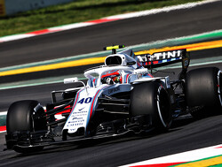 Kubica takes part in first Williams FP1 session