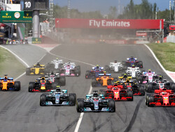 Starting grid for the 2019 Spanish Grand Prix