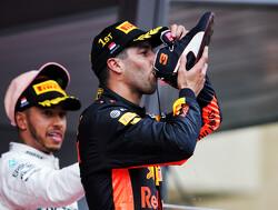 Wat is Daniel Ricciardo's favoriete shoey?