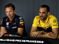 Abiteboul en Sauber-coureurs in persconferentie FIA
