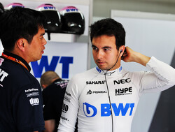 """Perez """"very happy"""" after best Friday of the season"""