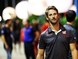 "Grosjean ""honoured""  to continue with Haas"
