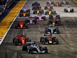 Uitgebreide highlights van de Grand Prix van Singapore 2018
