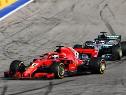 Het heerlijke gevecht tussen Hamilton en Vettel tijdens de GP van Rusland in 2018