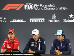 Press conference schedule for 2018 US Grand Prix