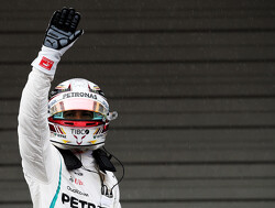 Hamilton 'can't believe' milestone 80th pole