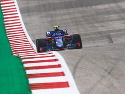 Gasly rijdt Amerikaanse GP met oude specificatie voorvleugel
