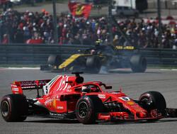 """Arrivabene: """"Misschien moeten we maar elleboogbeschermers kopen voor Vettel"""""""
