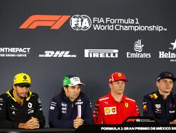 Press conference schedule for 2018 Brazilian Grand Prix