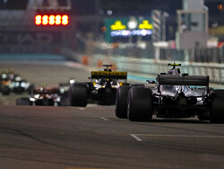 Starting grid for the 2018 Abu Dhabi Grand Prix