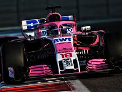 Racing Point presenteert hun nieuwe auto op 13 februari