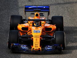 Sainz makes first appearance for McLaren