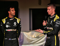 Hulkenberg 'excited' by Ricciardo challenge