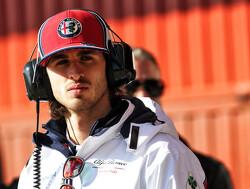 """Giovinazzi: """"Volgende week richten op meer progressie met Alfa Romeo"""""""