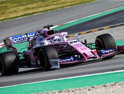 Sergio Perez sluit eerste testdag met een goed gevoel af