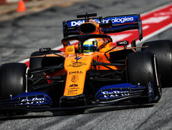 Norris pleased with maiden test outing with McLaren
