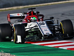 Giovinazzi satisfied with first Formula 1 test