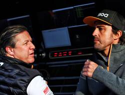"""Zak Brown over Alonso: """"Hij is helemaal geen moeilijk persoon om mee te werken"""""""