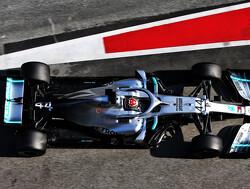 Lewis Hamilton geniet van runs met weinig brandstof