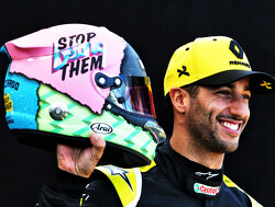 Ricciardo reveals radical new helmet design