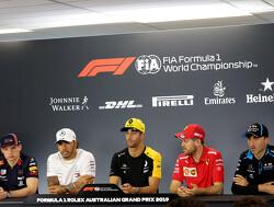 """Hamilton: """"Interessant om te zien hoe men punt voor snelste ronde wil pakken"""""""
