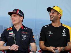 Ricciardo strijdt liever tegen agressief racende coureurs als Max Verstappen
