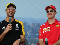 Ricciardo respects 'very honest and genuine' Vettel