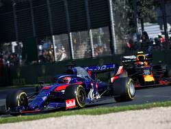Kvyat satisfied after 'difficult' fight for a point