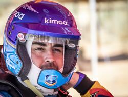 Fernando Alonso test Dakar-auto van Toyota