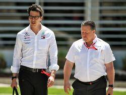 """Wolff: """"Mercedes riskeert dat McLaren een rivaal wordt"""""""