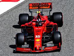 <b>VT1</b>: Leclerc snelste in Bahrein voor dominant Ferrari, Verstappen vijfde