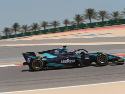 Latifi survives pit stop scare to win Bahrain feature race