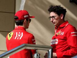 Ferrari: No clear indication behind Leclerc's problem