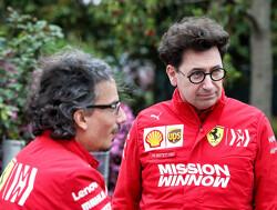 'Binotto meer op de achtergrond, Ferrari leunt op Mekies en Rueda'