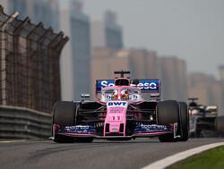 """Sergio Perez super tevreden met achtste plek: """"Totaal niet verwacht"""""""