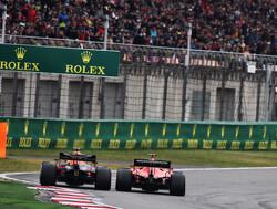 Inhaalacties Grand Prix van China
