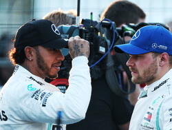 Mercedes 'lucky' Hamilton and Bottas get on well - Wolff
