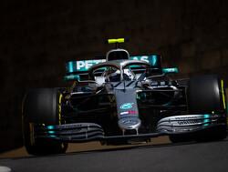<b>Grand Prix van Azerbeidzjan</b>: Bottas wint tegenvallende race in Bakoe, Verstappen vierde