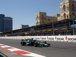 Latifi wins incident filled Baku sprint race