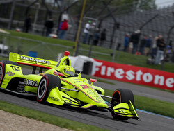 <strong>IndyCar Grand Prix:</strong> Pagenaud wins slippery Indianapolis race