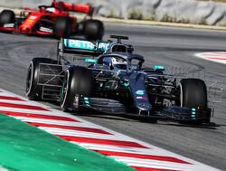 <b>Test update</b>: Bottas leads halfway through first test day in Barcelona