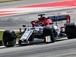 Ilott: F1 Barcelona test was positive despite crash
