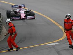 Perez had close call with marshals during Monaco GP