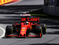 FP3: Vettel leads Ferrari 1-2, Mercedes four-tenths down