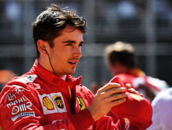Leclerc avoids damaging penalty for missing bollard