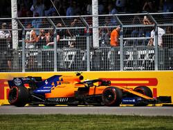 McLaren heeft oorzaak gebroken wielophanging Norris in Canada achterhaald
