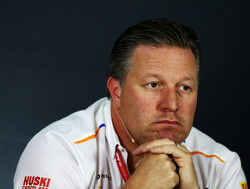 Brown excited by challenge of McLaren resurgence