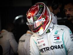 """Hamilton erg blij met pole 86: """"Je moest erg rekening houden met de wind"""""""